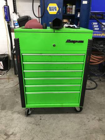 Photo Snap on Tool cart - $1,500 (Pinson)