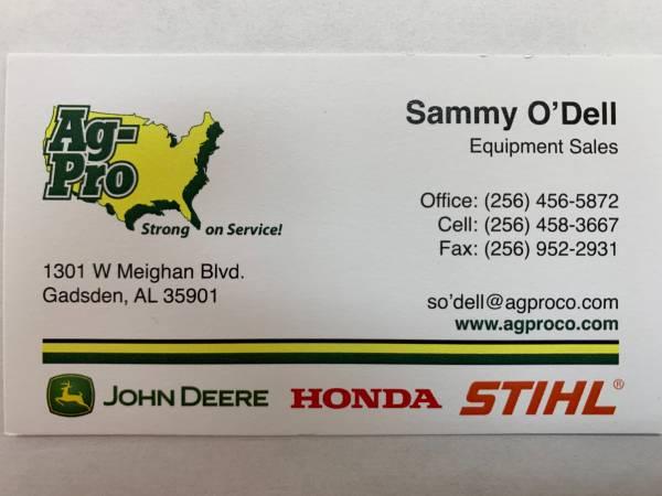 Photo USED JOHN DEERE 317G SKID STEER 2019 CALL SAMMY O39DELL 256-504-5322 - $41,500 (1301 WEST MEIGHAN GADSDEN, ALABAMA)