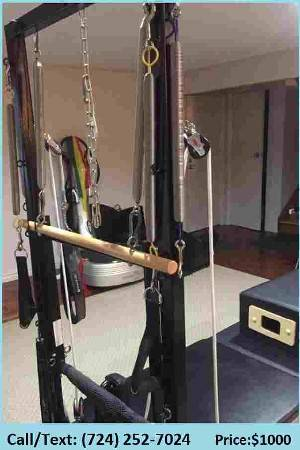 Photo $ Very Nice V2 Max Pilates Equipment Package (wall tower, Reform