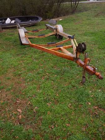 Photo heavy duty boat trailer - $450 (Alabaster)