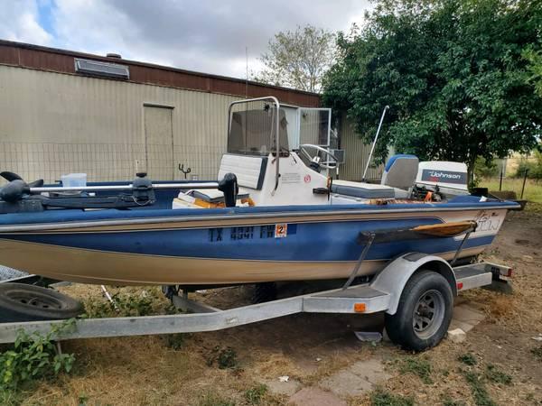 Photo 1991 cajun boat center console - $4,000