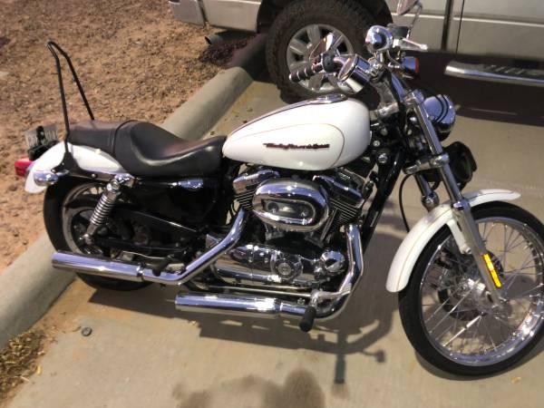Photo 2007 Harley Davidson Sportster XL 1200 Custom - $4,500 (El Paso)