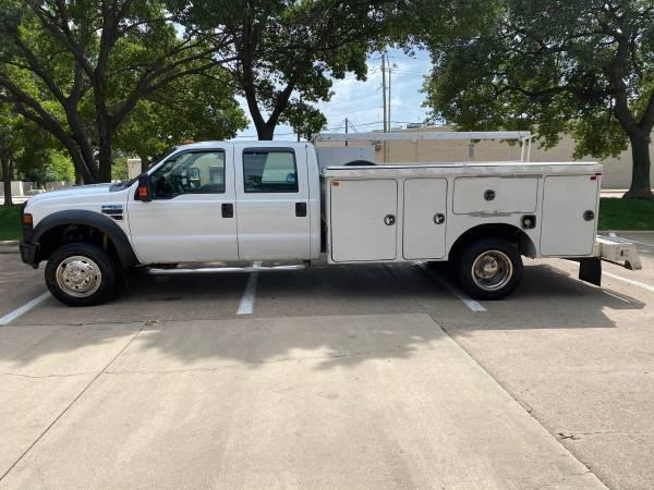 Photo 2008 Ford F450 utility - $9,600 (Dallas)