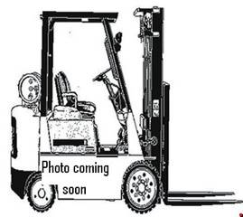 Photo 2014 Toyota Forklift Three Stage Pneumatic Tire 4 Wheel Sit Down (San Antonio)