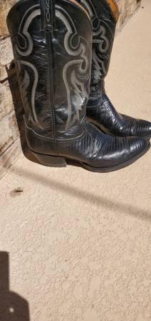 Photo Black Lizard boots - $65 (El Paso)