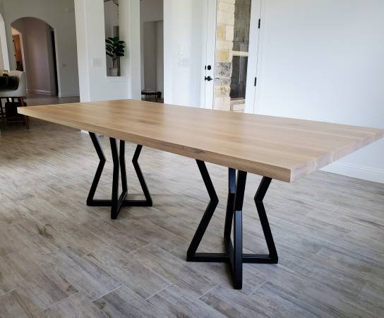 Photo Dining Table, Solid Wood, Made to Order - $1,234 (San Antonio)