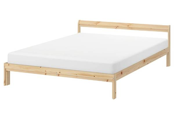 Photo IKEA full bed frame  mattress - $50 (San Antonio)