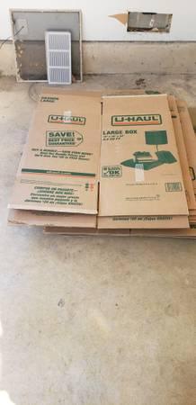 Photo Large U-Haul Boxes (San Antonio)