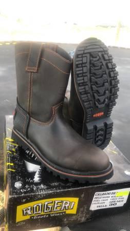 Photo Mens Brown Work Boots 11 - $60 (El Paso Hueco ranch Rd.)