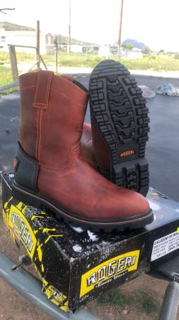 Photo Mens Work Boots 11.5 - $65 (El Paso Hueco Ranch Rd.)