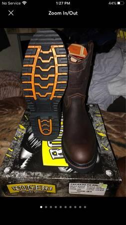 Photo Mens Work Boots 12 - $65 (El Paso Hueco Ranch Rd)
