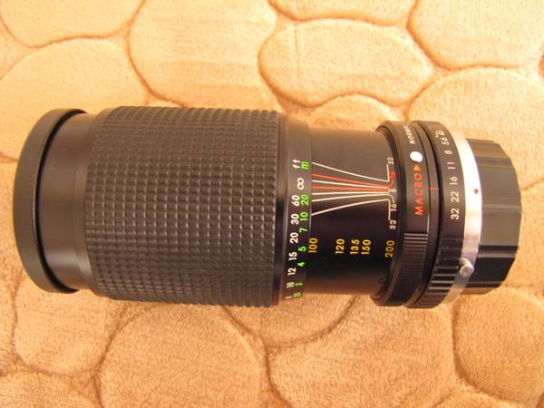 Photo SICOR ONE-TOUCH TELEPHOTO ZOOM LENS Not for Digital. - $18 (Chaparral)