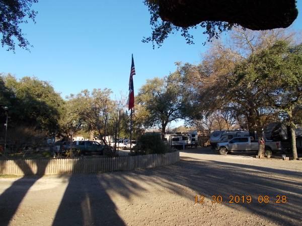 Photo Shady Oaks RV Park spaces for rent, storage space - $350 (So. San AntonioPleasanton)