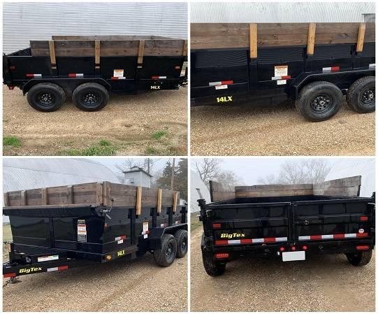 Photo Trailer14Feet17 dump Big tex Serious inquiries - $1,205 (midland)
