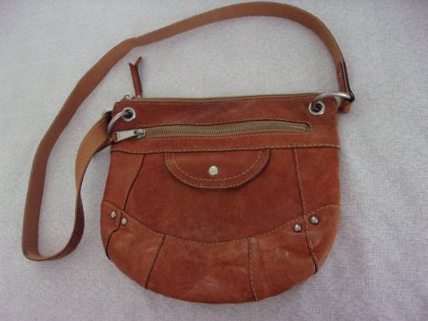 Photo Vintage Fossil Leather Bag - $13 (San Antonio)