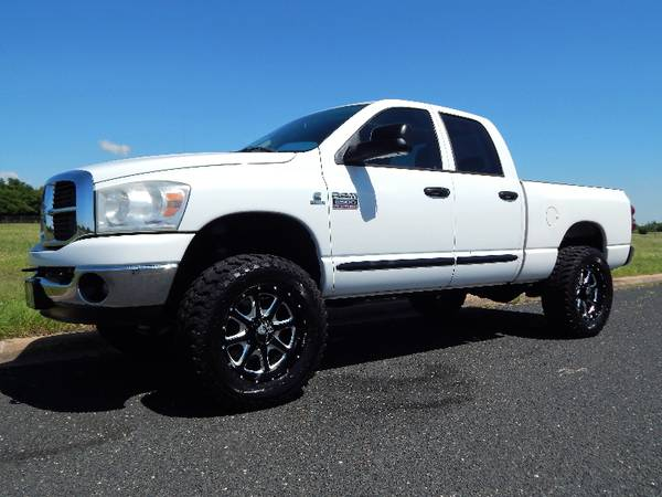 White Lightning 2007 Dodge Ram 2500 Slt 4x4 Leveled New 20
