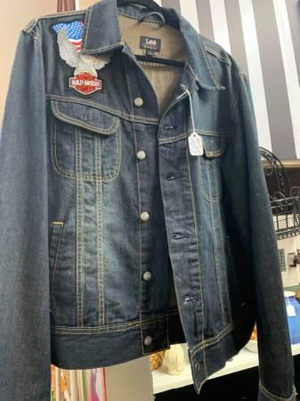 Photo Womens Harley Davidson Denim Jacket Large - $60 (Geronimo)