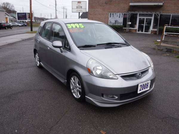 Photo 08 Honda Fit Sport Automatic Loaded Alloy39s Clean Carfax - $3,995 (endicott)