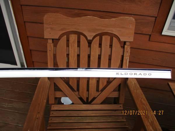 Photo 1992-2002 cadillac eldorado pearl white side moldings - $1 (greene ny)