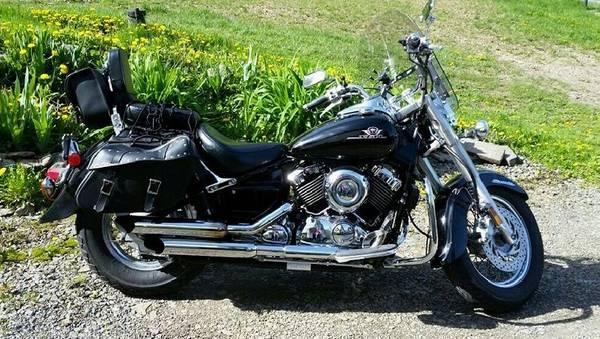 Photo 2003 Yamaha V-Star 650 Classic - $2,900 (Vestal, NY)
