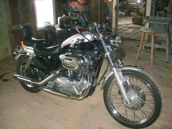 Photo 2003 h-d sportster 1200c - $4,000 (bainbridge)