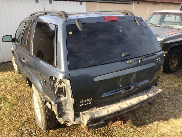 Photo 2004 Jeep Grand Cherokee Rear Gate Hatch COMPLETE 1999 00 01 02 03 - $200 (Athens PA)
