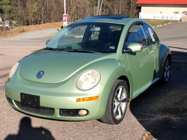 Photo 2006 vw beetle TDI No Rust Runs Great Diesel - $3,250 (Greentown)
