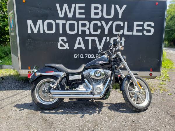 Photo 2007 Harley Davidson Dyna Superglide ONLY 4000 MILES - $12,999 (NESQUEHONING)
