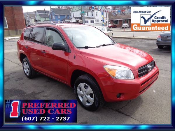 Photo 2008 Toyota Rav4 4WD Clean Guaranteed Credit Approval - $7,995 (1 Preferred Used Cars, 253 Conklin Ave, Binghamton)