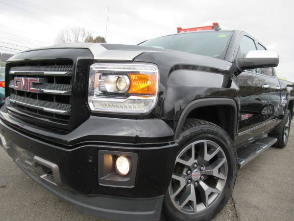 Photo 2014 GMC SIERRA 4WD V8 SLT DOUBLE CAB ALL TERRAIN LOADED-LEATHER NICE - $20995 (Johnson city)