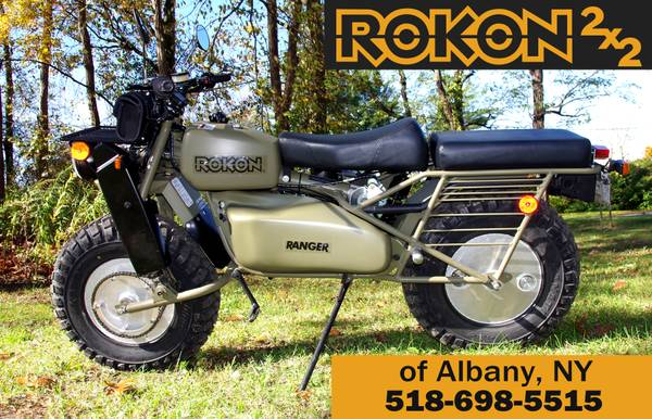 Photo 2019 Rokon Ranger and Rokon Trail-Breaker 2x2 Bikes (Royal Enfield of Albany)