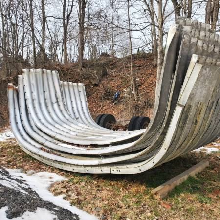 Photo 20 foot x31.5 foot Aluminum Arch Culvert - $3,500 (Binghamton)