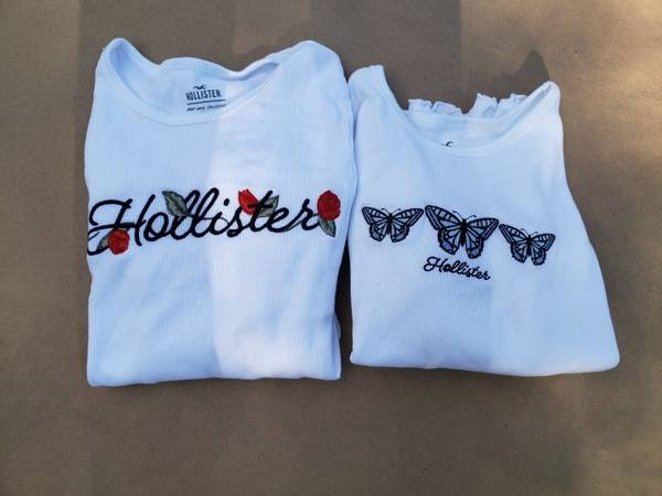 Photo 2 Adult XS NEW Never Worn Hollister Long Sleeve Shirts wbutterfly39s - $20 (Endwell)