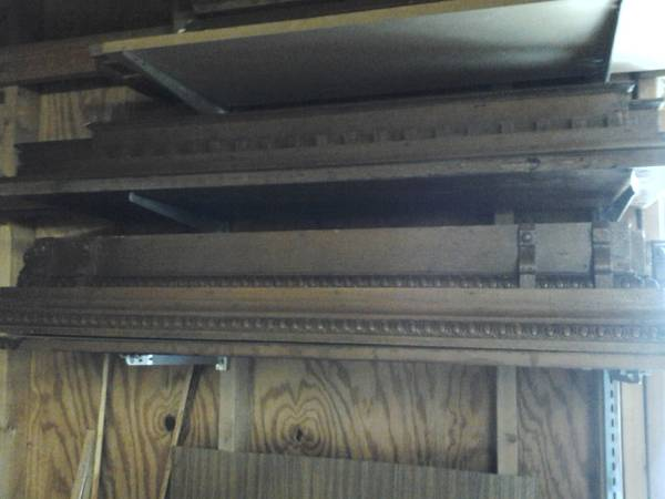 Photo American Chestnut Trim and Stained Glass Windows - $2,750 (Johnson City)