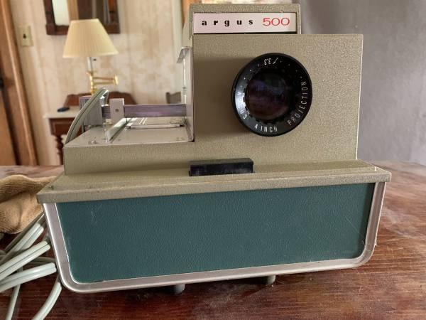 Photo Argus 500 slide projector - $25 (Port Dickinson)