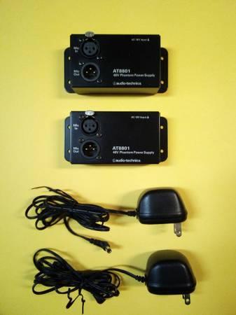 Photo Audio Technica AT8801 Single Channel 48V DC Phantom Power Supply - $95 (Binghamton)