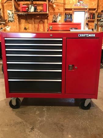 Photo Craftsman USA rolling tool chest - $500 (Binghamton)