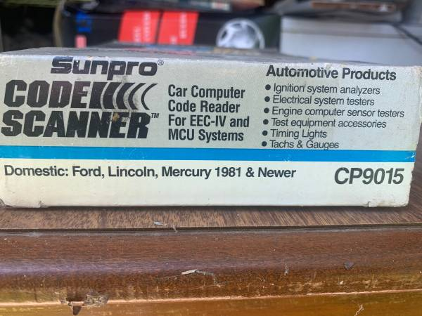 Photo Ford code scanner for 1981 and newer - $25 (Barton)