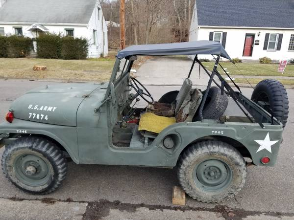 Photo Jeep WILLYS M38A1 - $5499 (VESTAL)