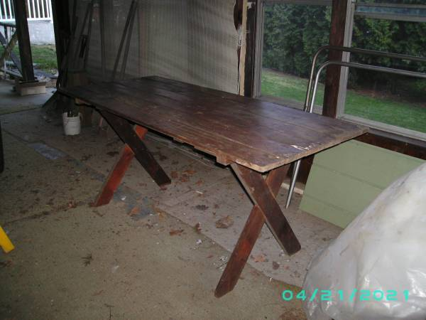 Photo Picnic Table - Folding - $25 (Endwell)