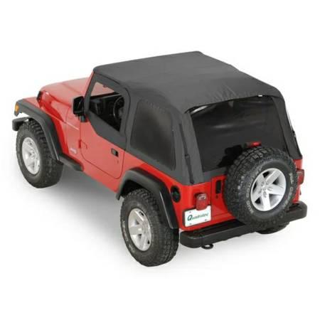 Photo Rage Frameless Soft Top Jeep Wrangler TJ - $150 (Owego)