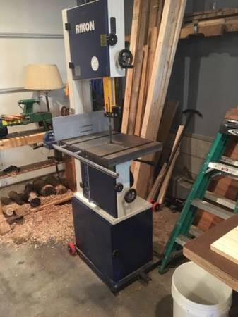 Photo Rikon 14 inch Bandsaw