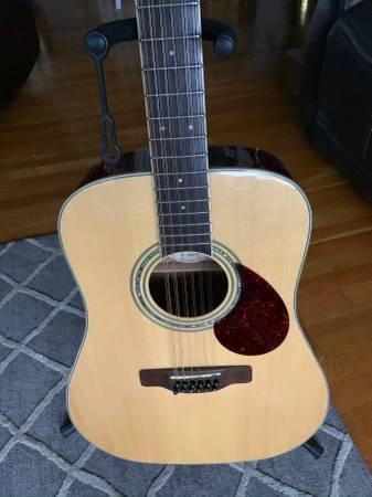 Photo Samick Greg Bennett 12 string guitar - $125 (Windsor)