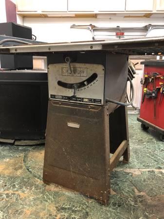 Photo Sears craftsman table saw - $150 (Owego)