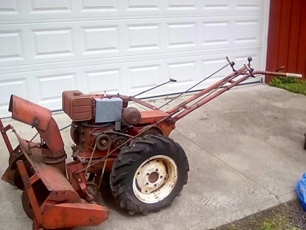 Photo Simplicity model W, walk behind tractor - $230 (Greene)