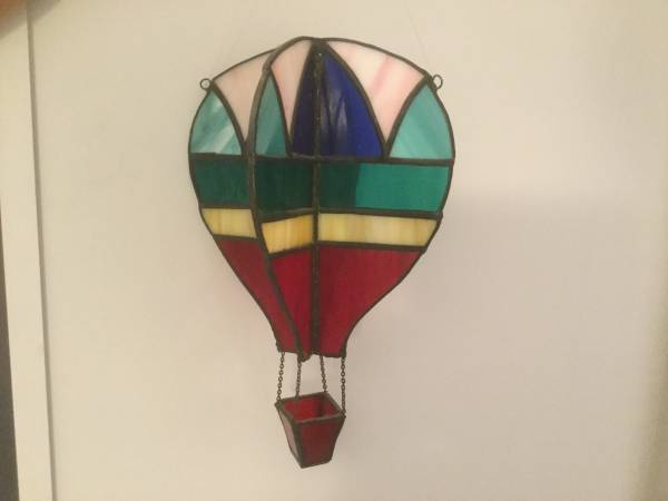 Photo Stained Glass Hot Air Ballon - $25 (Vestal)