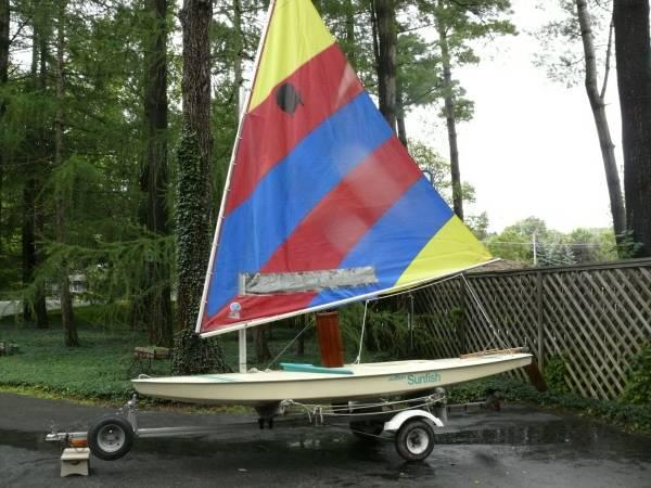 Photo Sunfish Sailboat For Sale - $1,100 (Cazenovia, NY)