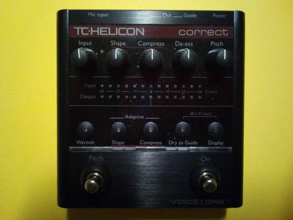 Photo TC-Helicon VoiceTone Correct - $75