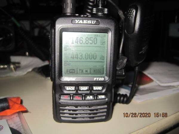 Photo Yaesu FT2DRDE handheld ham radio - $350 (Sayre, Pa)