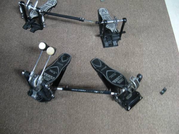 Photo ludwig snare drum  tama iron cobra double bass pedal - $1 (binghamton)